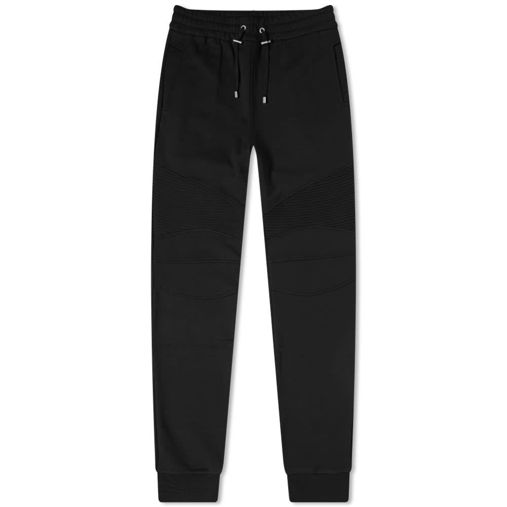 Balmain Flocked Eco Sweat Pant - Black