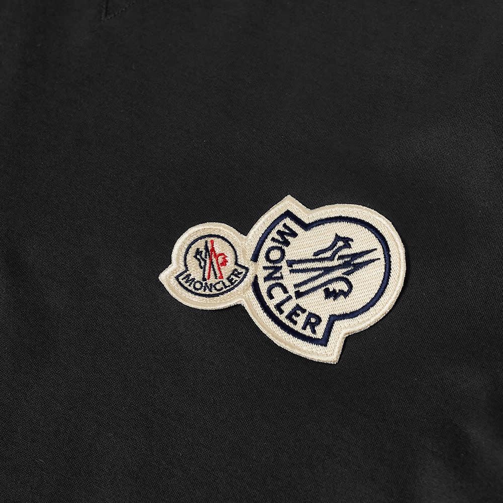 Moncler Multi Logo Tee - Black