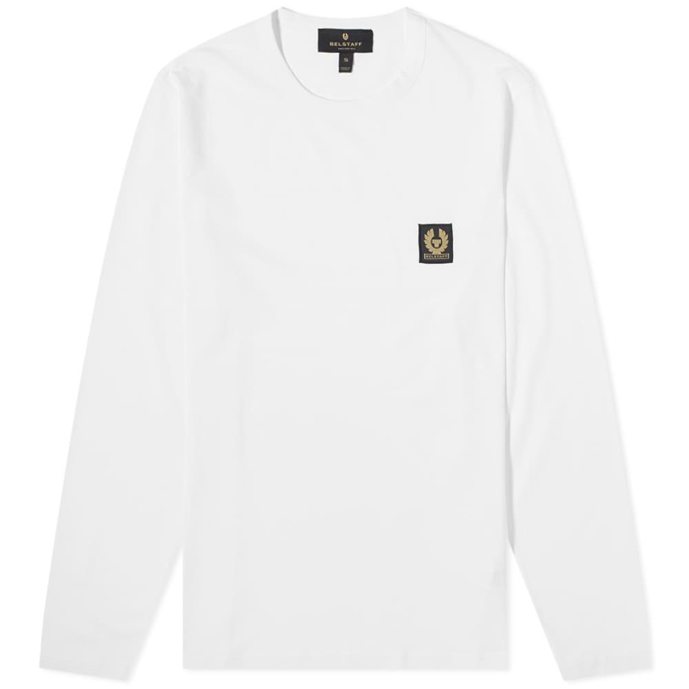 Belstaff Long Sleeve Tee - White