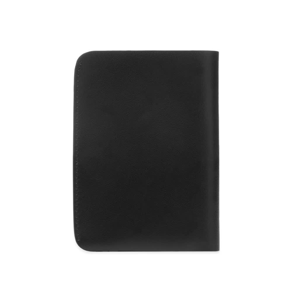 Jil Sander Double Card Wallet - Black