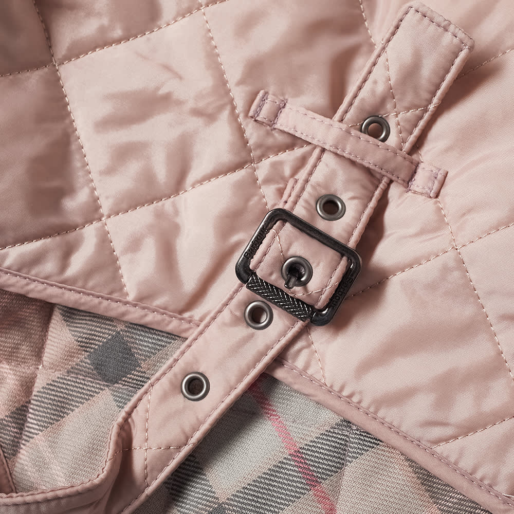 Barbour Quilted Dog Coat - Pink