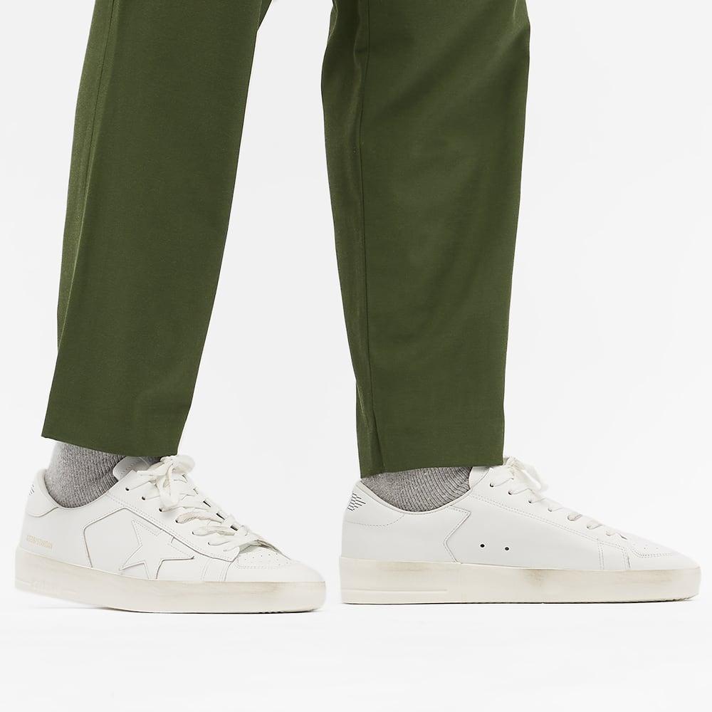 Golden Goose Stardan Leather Sneaker - Optic White