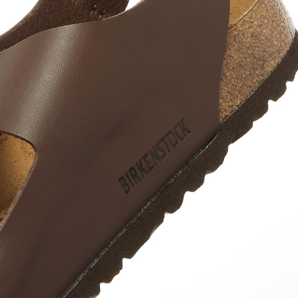 Birkenstock Milano - Dark Brown Birko, Flor