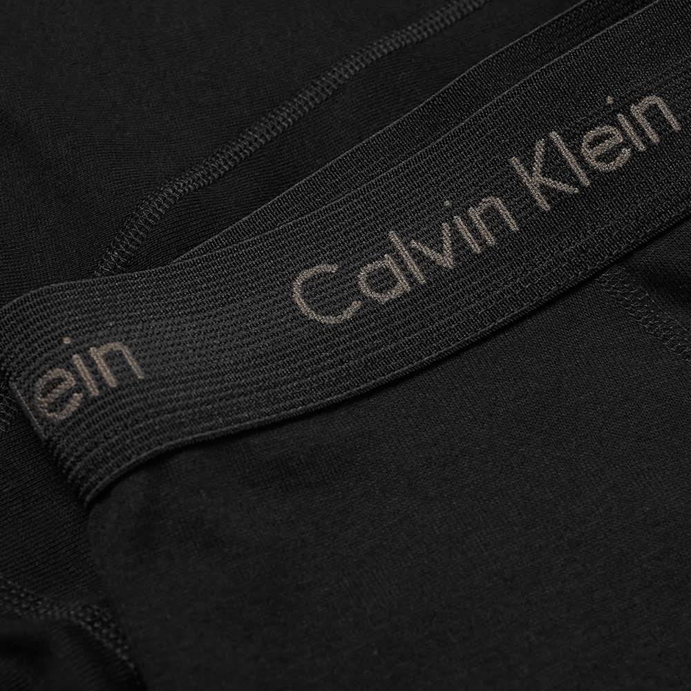 Calvin Klein Grey Box Button Fly Boxer Brief - Black