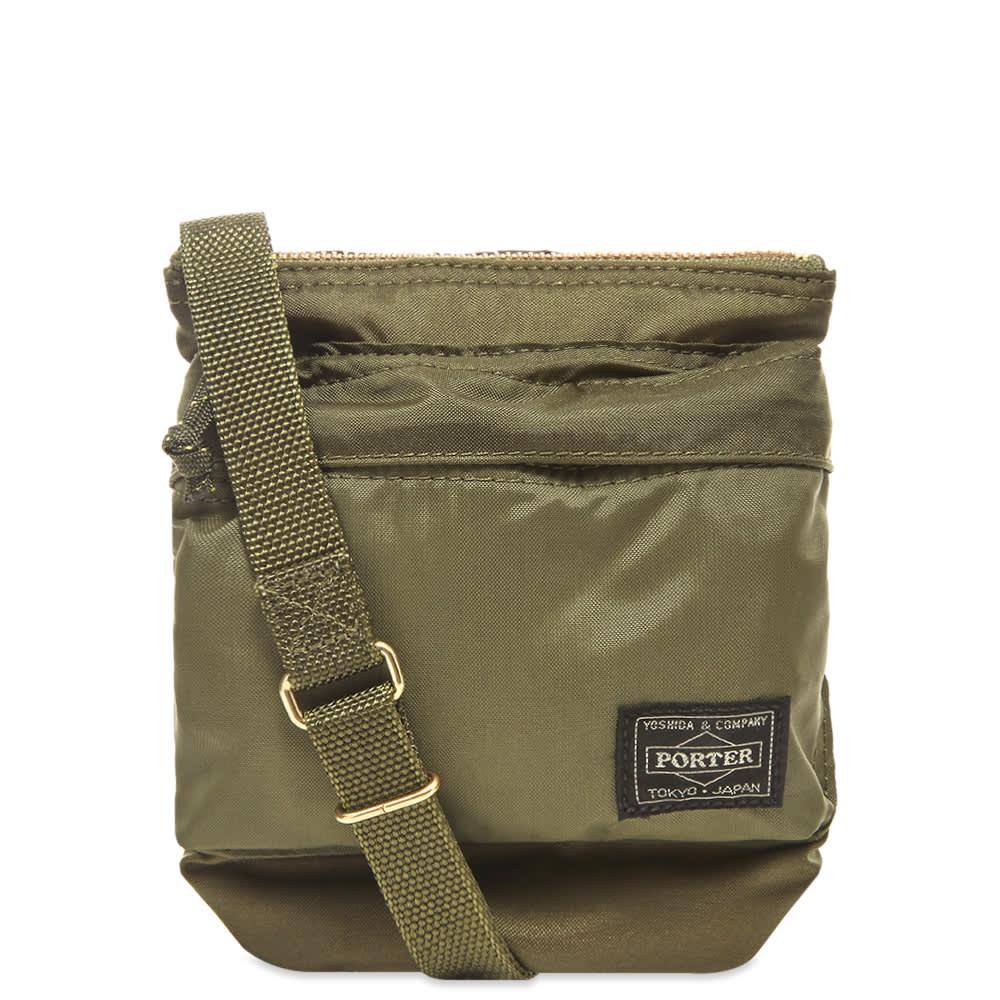 Porter-Yoshida & Co. Force Shoulder Pouch - Olive