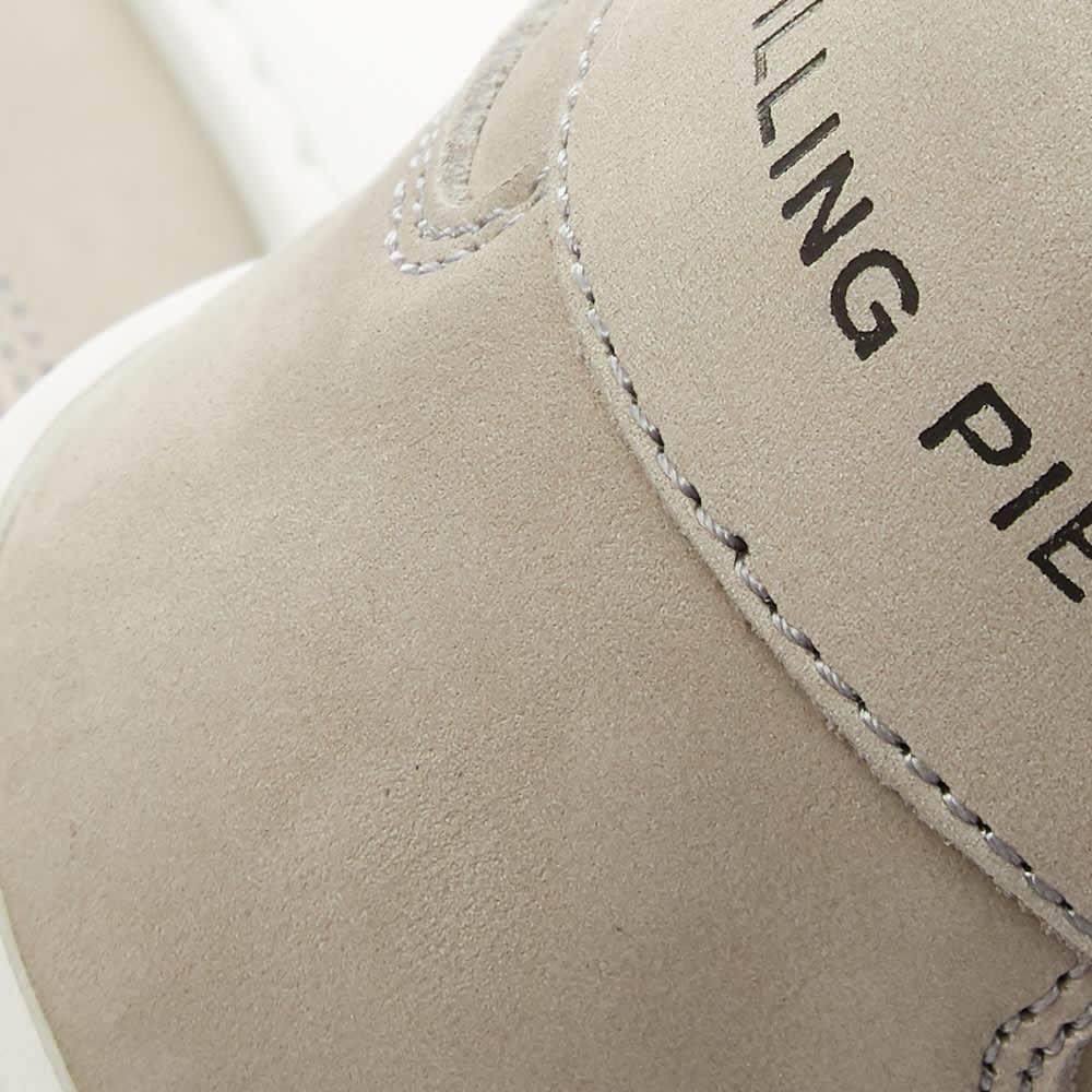 Filling Pieces Mondo 2.0 Ripple Nubuck Sneaker - Light Grey & White