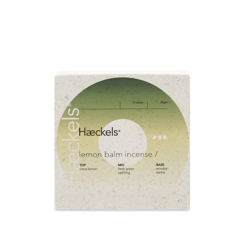Haeckels Lemon Balm Incense Cones - 17 Cones