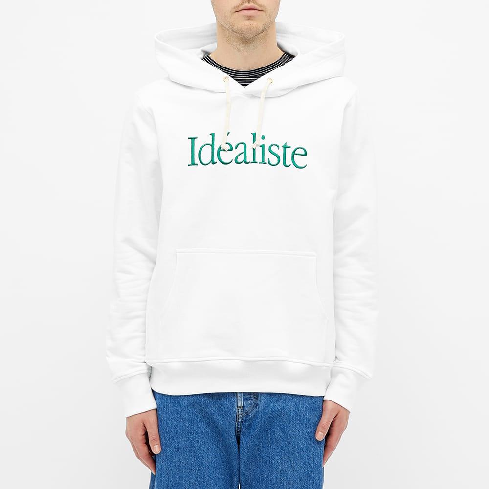 Casablanca Idealiste Hoody - White