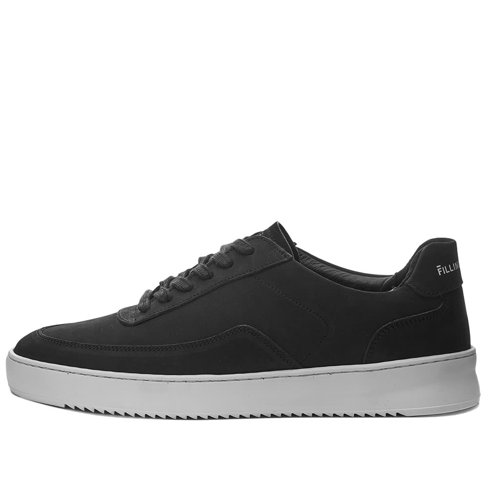 Filling Pieces Mondo 2.0 Ripple Nubuck Sneaker - Black & White