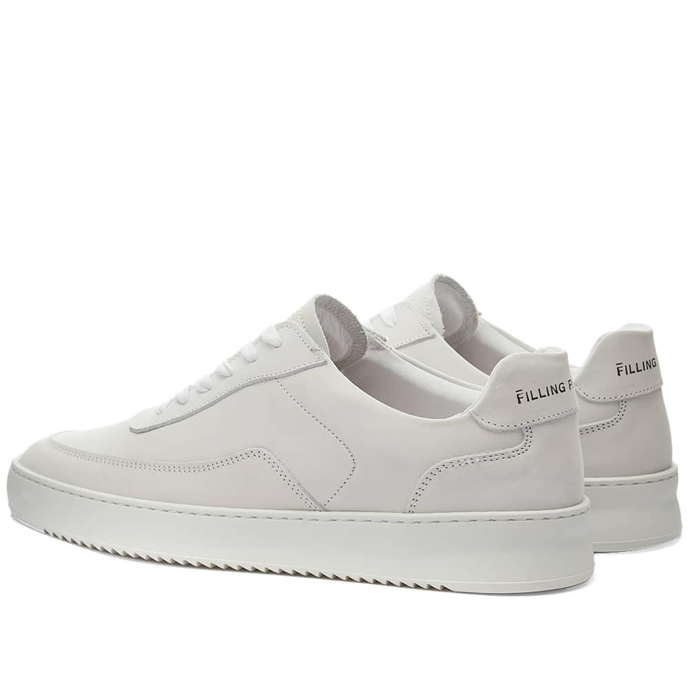 Filling Pieces Mondo 2.0 Ripple Nubuck Sneaker - White
