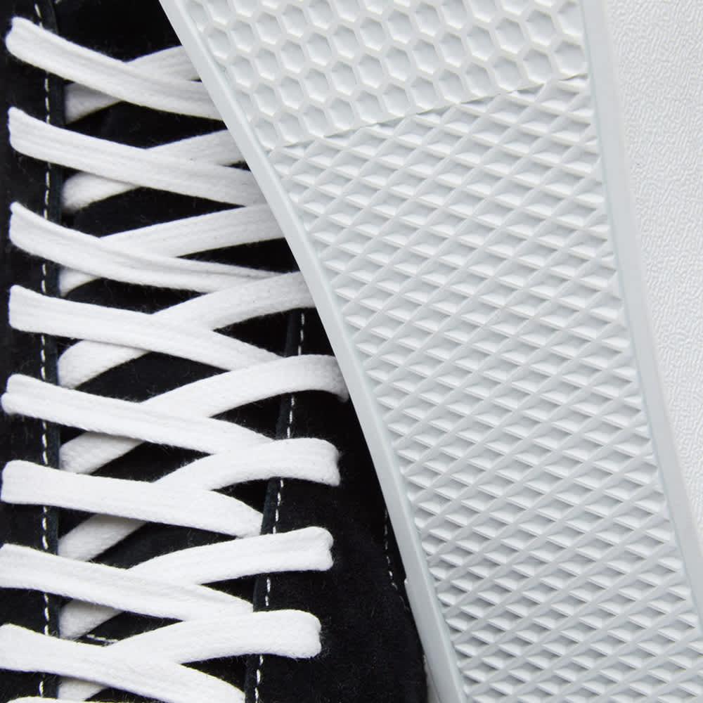 Givenchy George Skate Mid Sneaker - Black & White