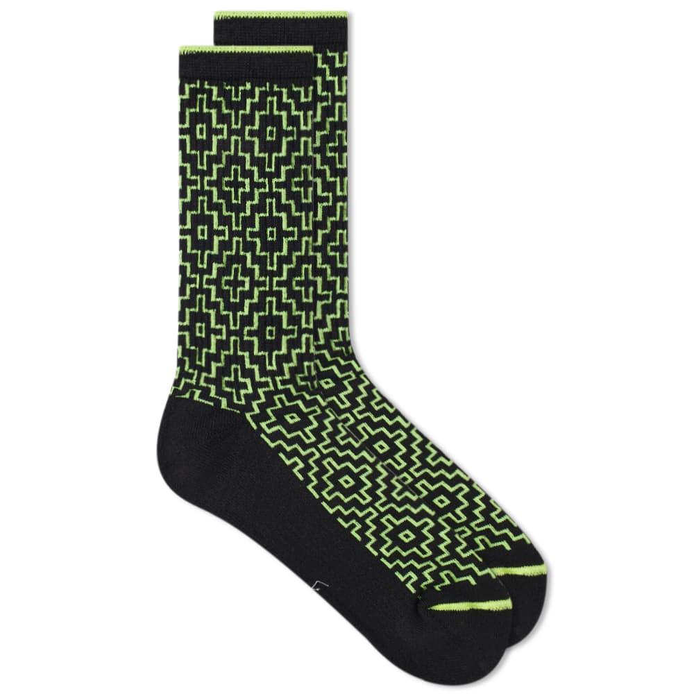 FDMTL Sashiko Socks - Black