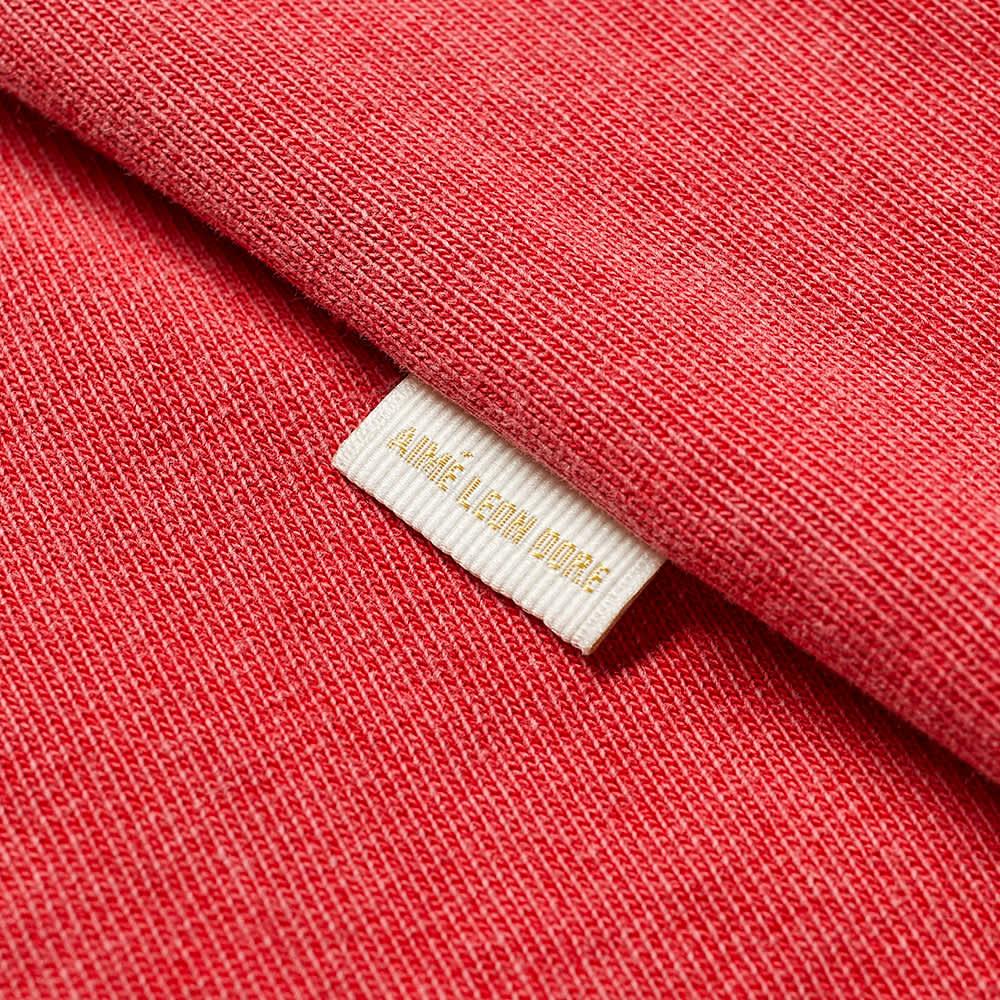 Aimé Leon Dore Long Sleeve Washed Pocket Tee - American Beauty