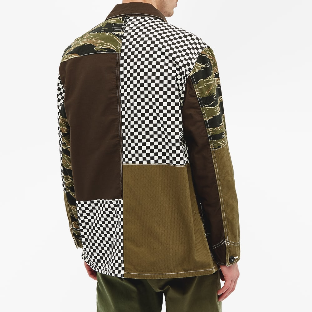 FDMTL Boro Patchwork Coverall Jacket - Camo