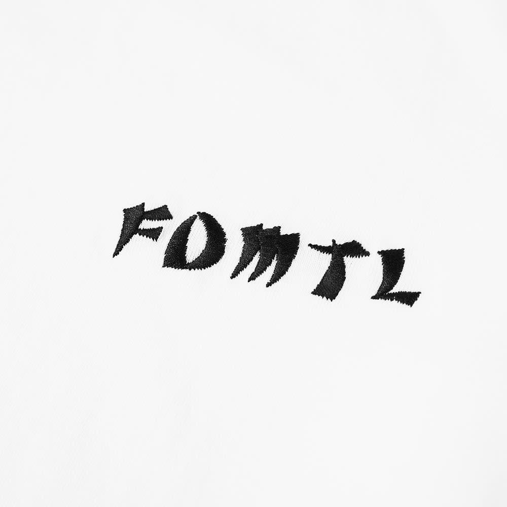 FDMTL Long Sleeve Flower Tee - White