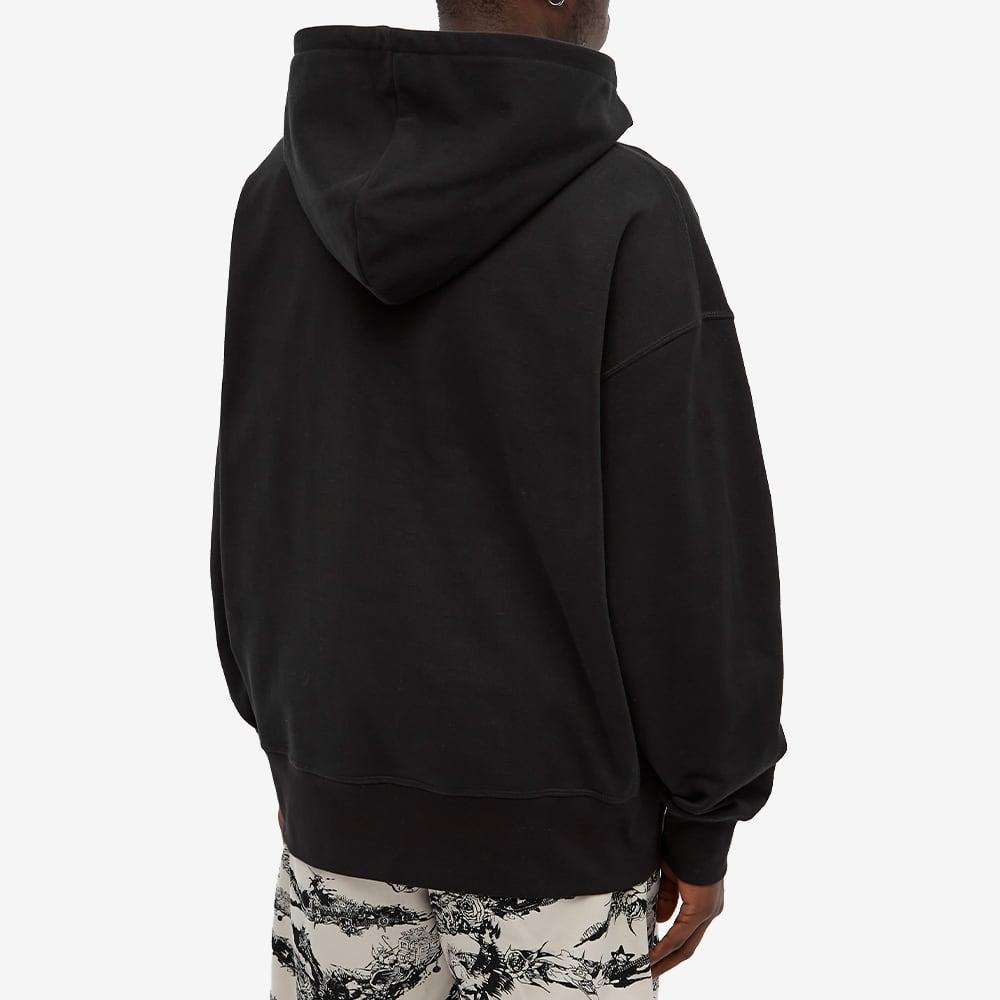 Alexander McQueen Skull Logo Popover Hoody - Black & Multi