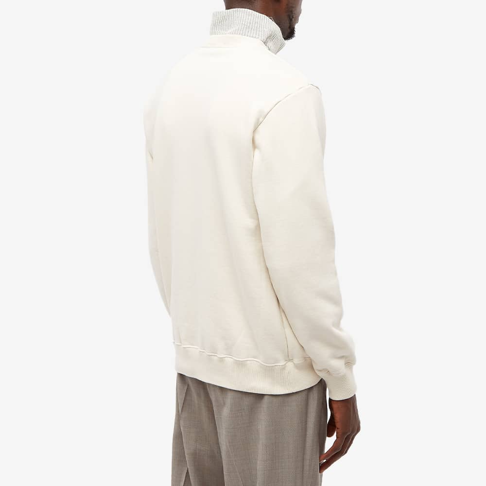 Undercover Thorn Peace Crew Sweat - Ivory