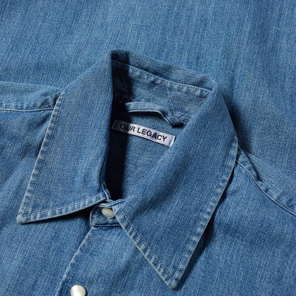 Our Legacy Above Vintage Denim Shirt - Vintage Denim