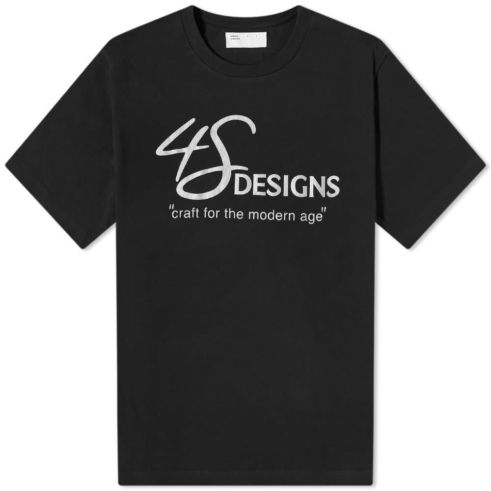 4SDesigns Modern Age Tee - Black