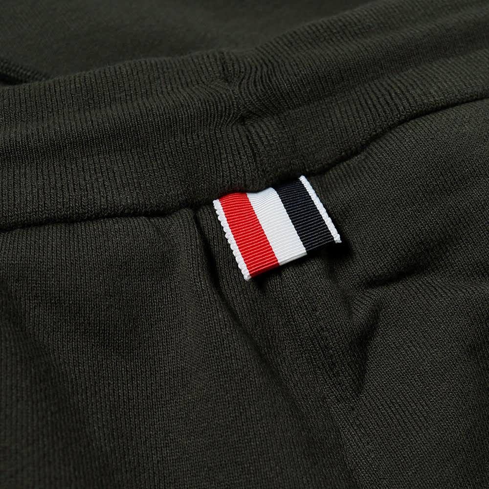 Thom Browne Engineered Stripe Sweat Short - Dark Green