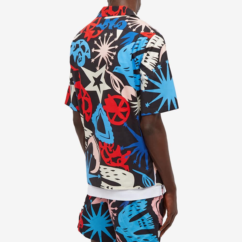 Alexander McQueen Skull All Over Print Vacation Shirt - Black & Multi