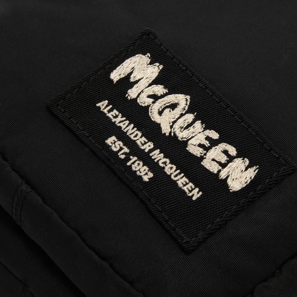 Alexander McQueen Grafitti Logo Camera Bag - Black & Off White