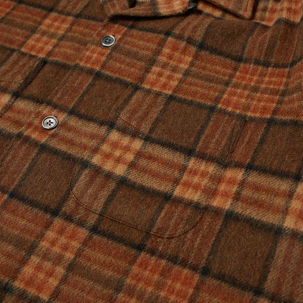 Our Legacy Huesen Check Overshirt - Fox Brown Check