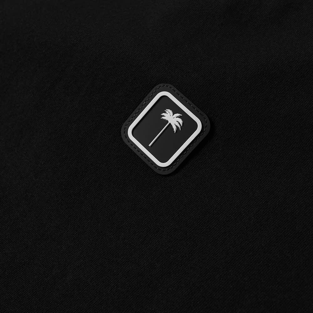 Palm Angels Patch Logo Tee - Black & White