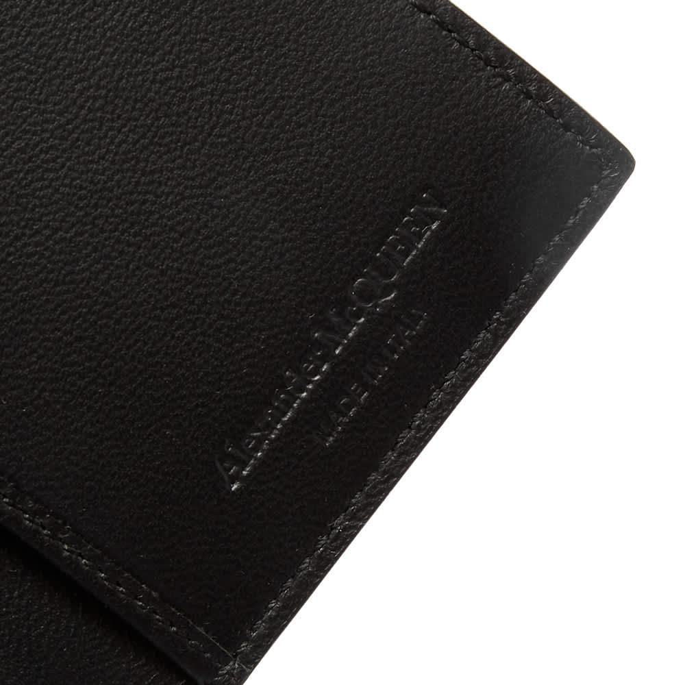 Alexander McQueen Small Fold Billfold Wallet - Black & White