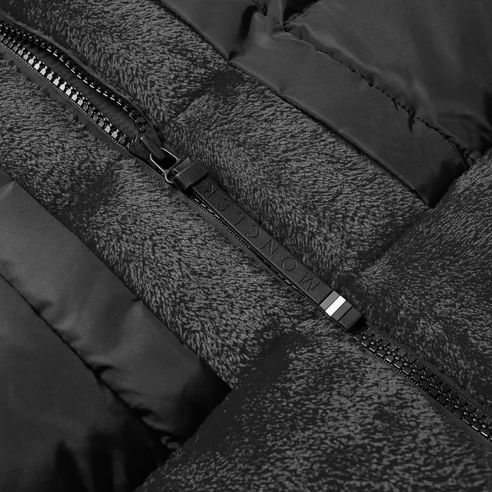 Moncler Grenoble Furry Down Jacket - Black