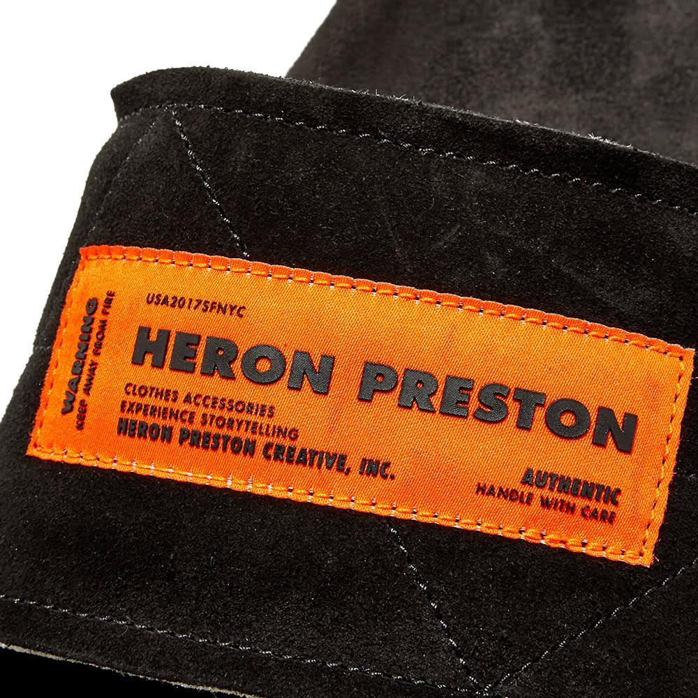 Heron Preston Sponge Slide - Black