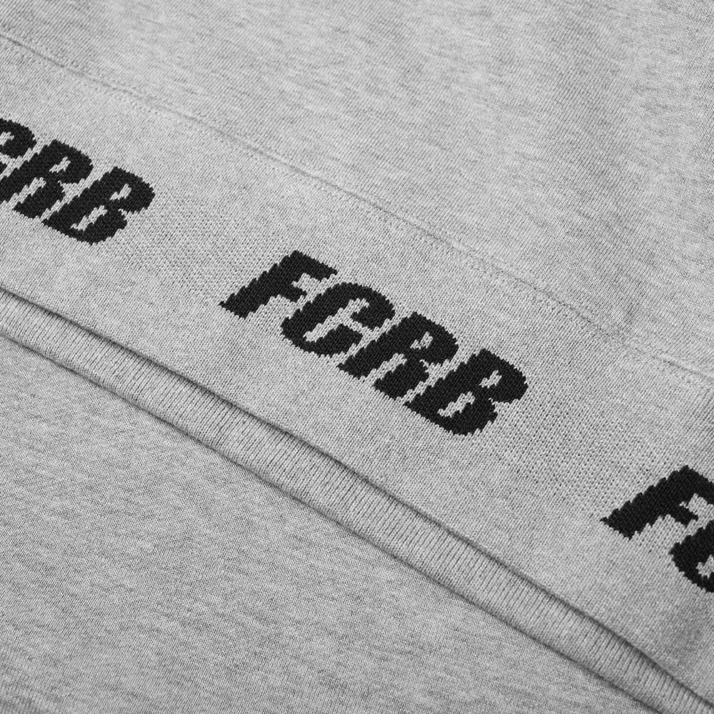 F.C. Real Bristol Logo Ribbed Crew Sweat - Grey