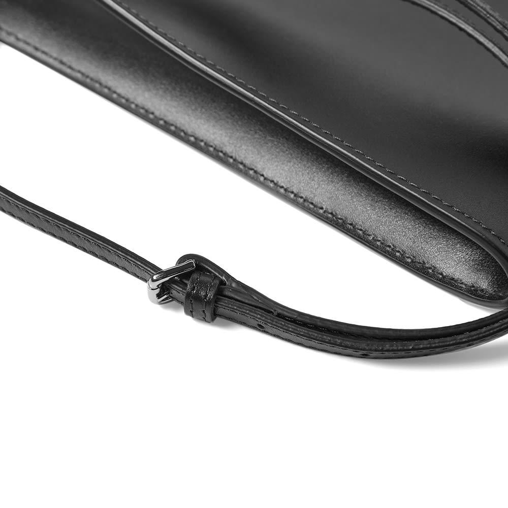 A.P.C. Jamie Leather Neck Pouch - Black