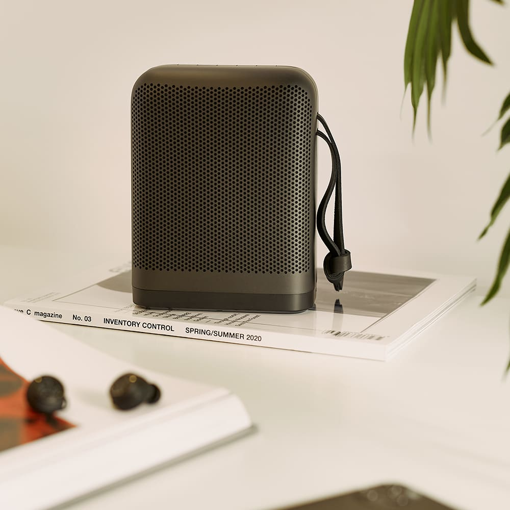 Bang & Olufsen Beoplay P6 Portable Bluetooth Speaker - Black
