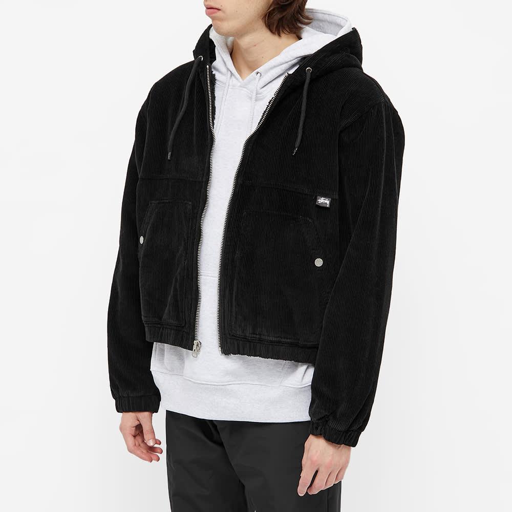 Stussy Cord Work Jacket - Black
