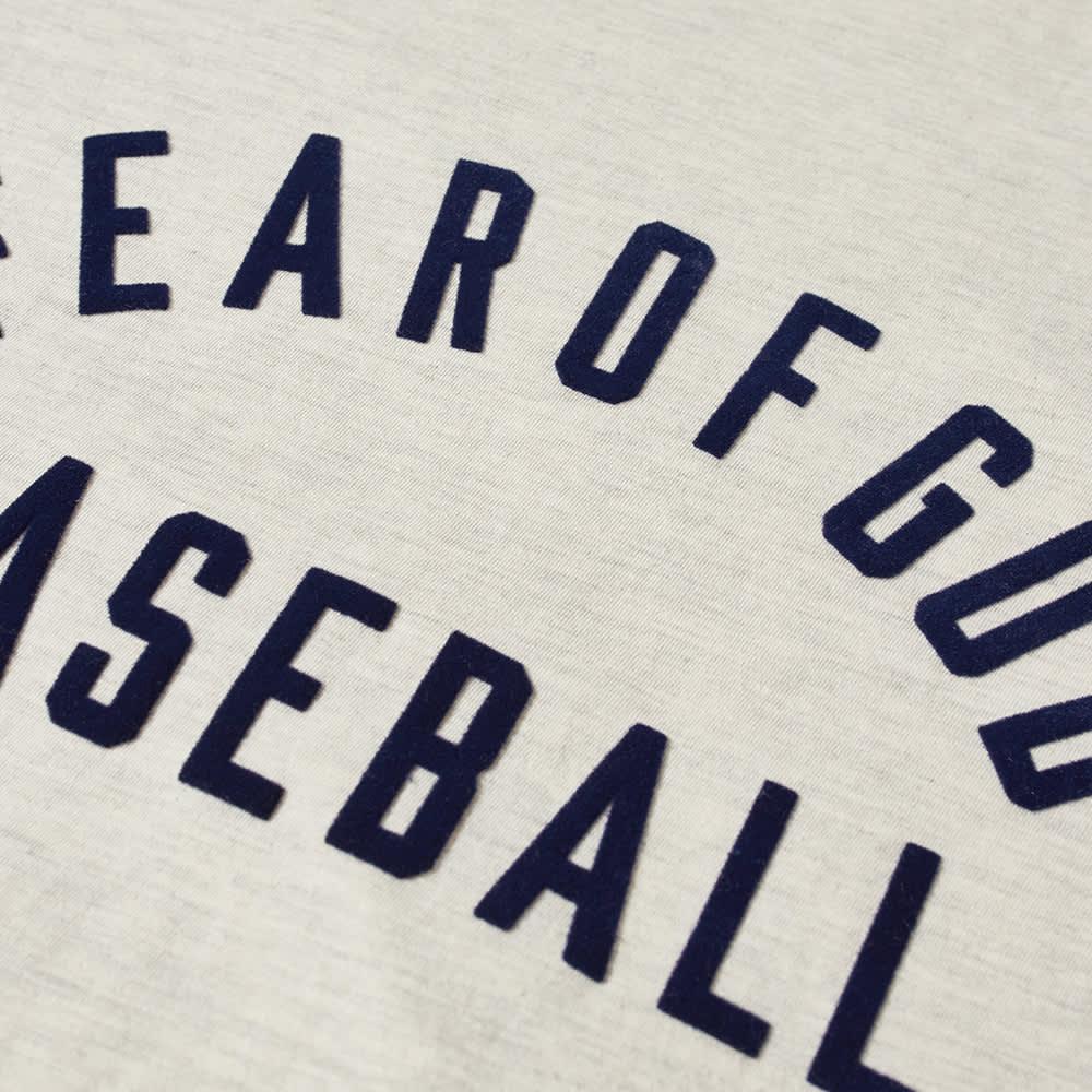 Fear Of God Baseball Tee - Cream Heather, Navy