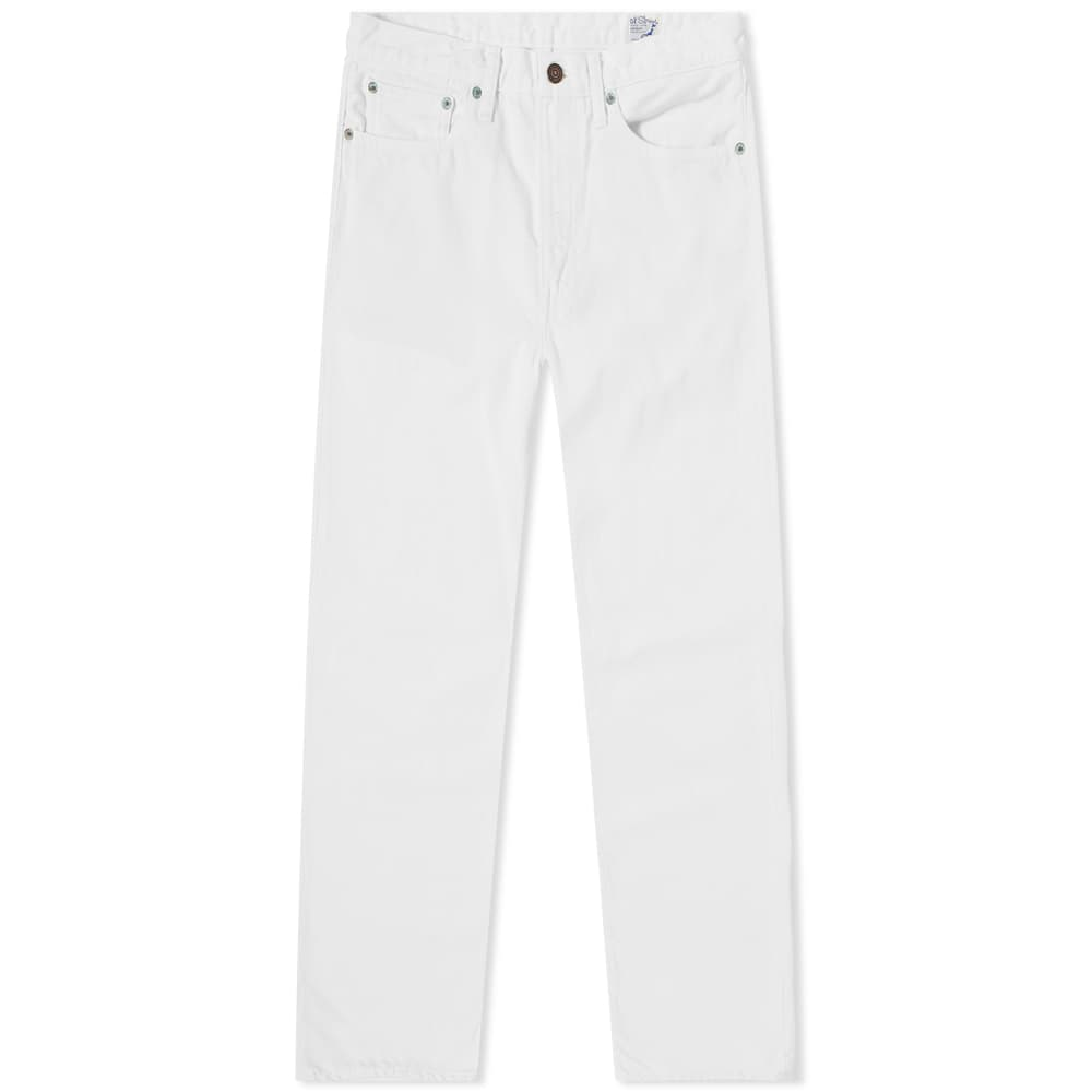 orSlow 107 Ivy League Slim Jean - White