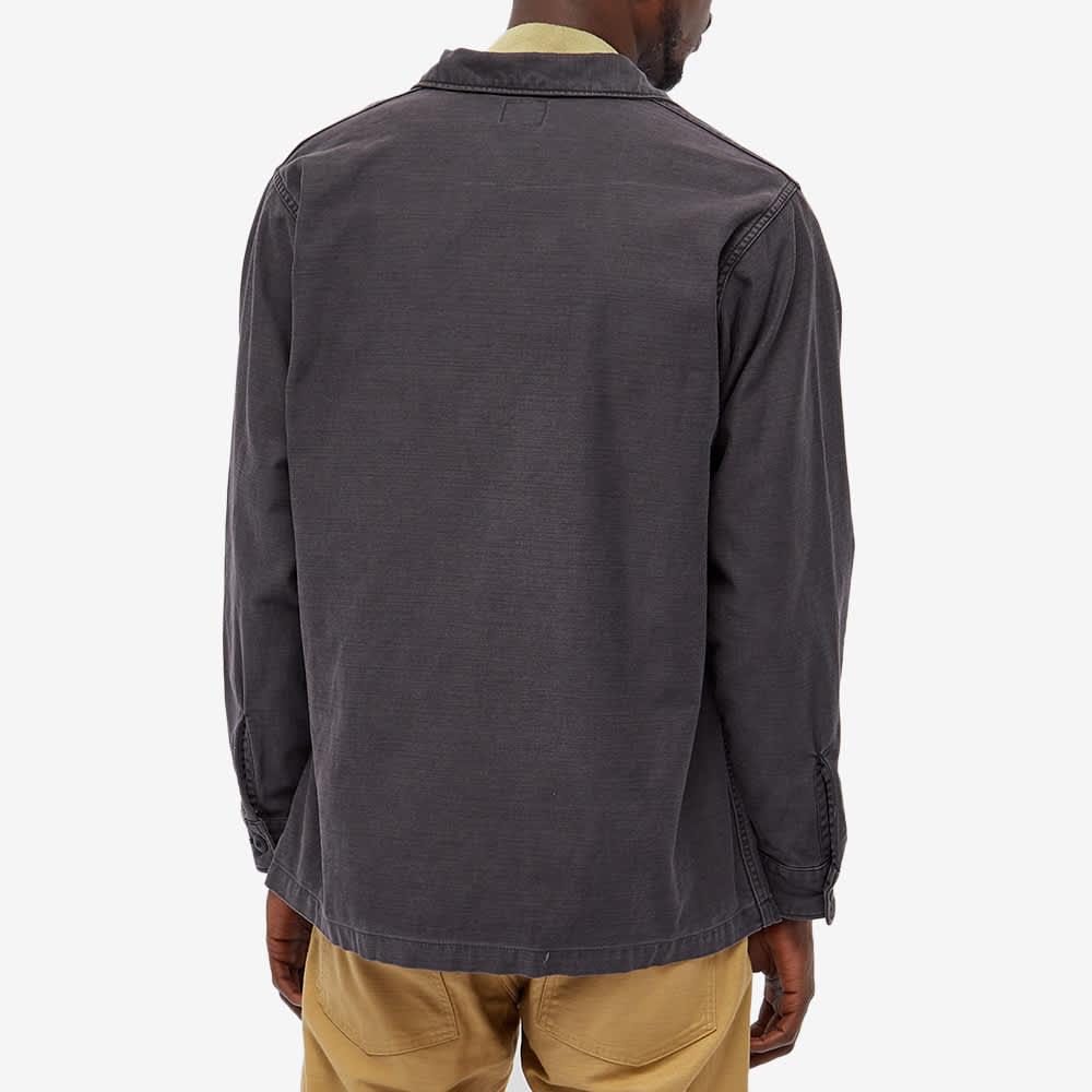 orSlow US Army Shirt - Black Stone