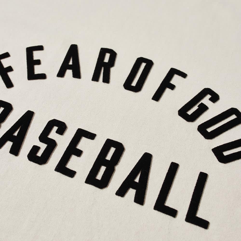 Fear of God Baseball Tee - Sand & Black