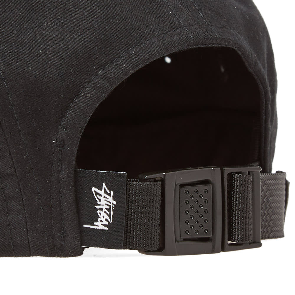 Stussy Stock Logo Camp Cap - Black