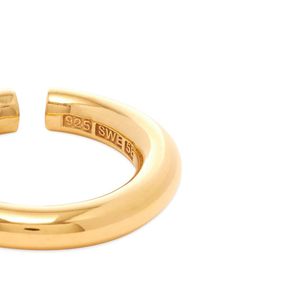 All Blues Almost Ring - Vermeil Gold