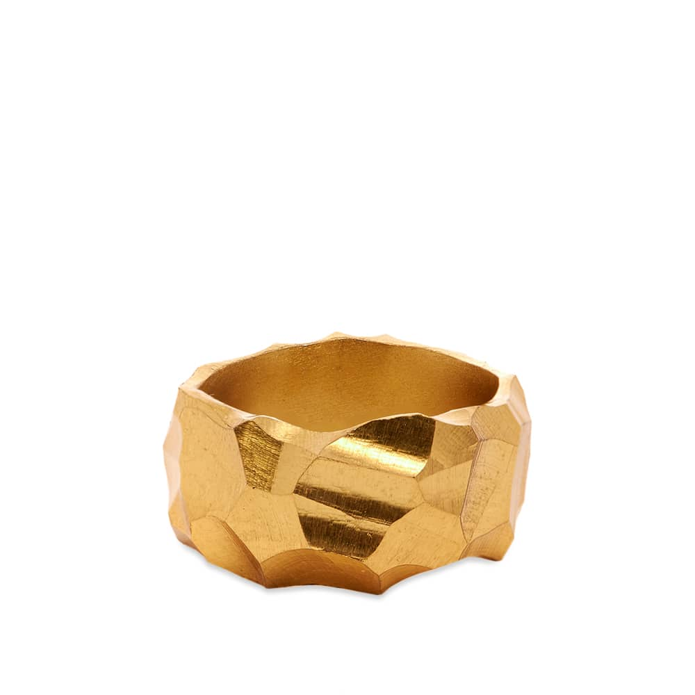 All Blues Rauk Narrow Ring - Vermeil Gold