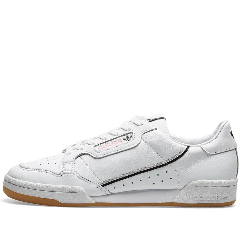 Adidas x TFL Continental 80 White