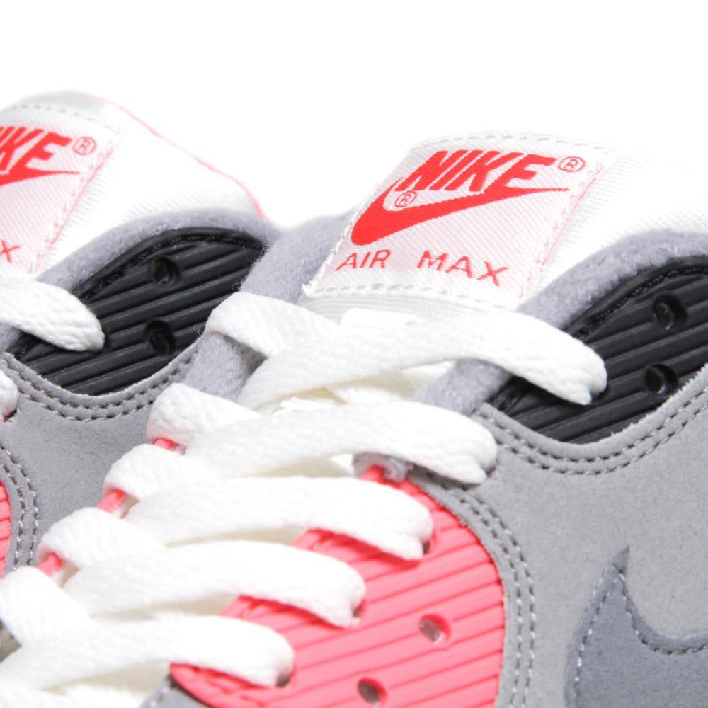 Nike Air Max 90 OG - Sail, Cool Grey & Infrared
