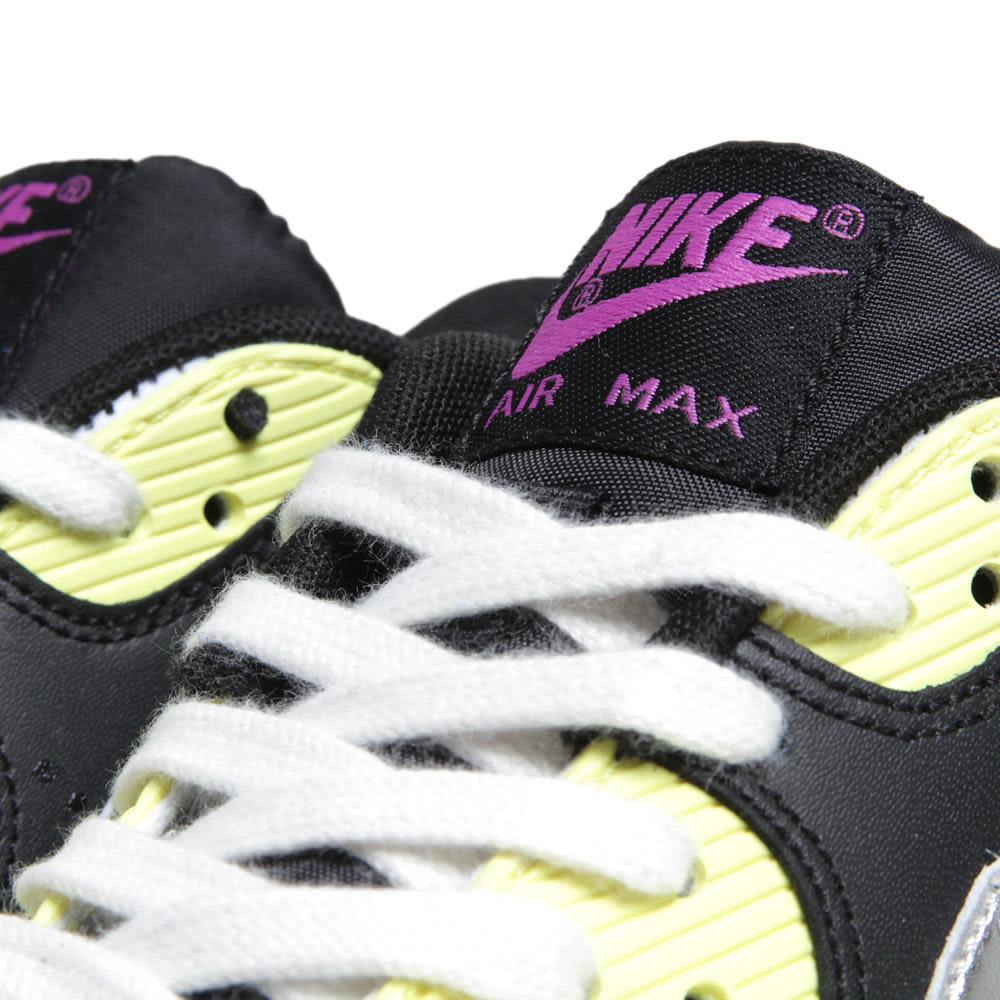Nike Air Max 90 - Medium Grey, Metallic Silver &