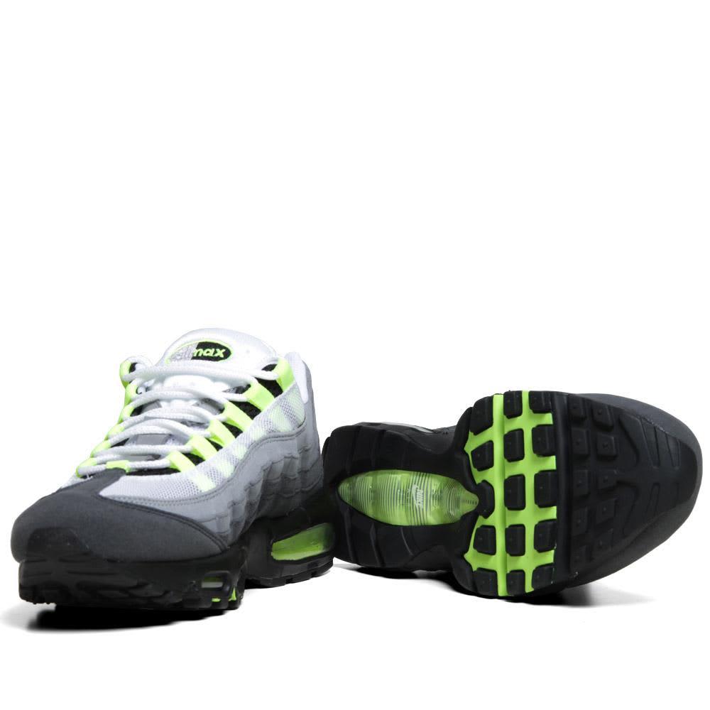 Nike Air Max '95 OG - White, Neon Yellow & Anthracit