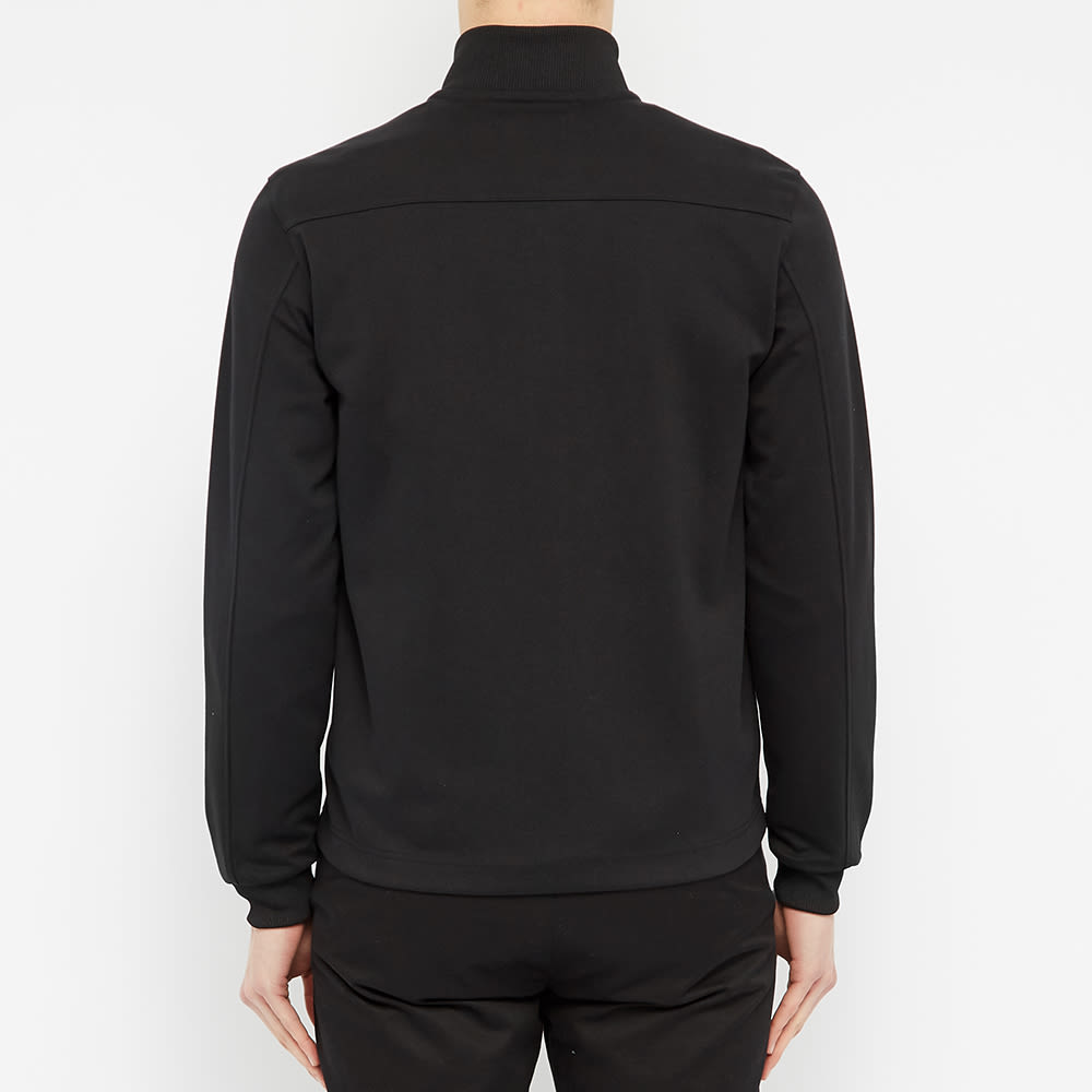 Fred Perry Bomber Collar Track Jacket - Black