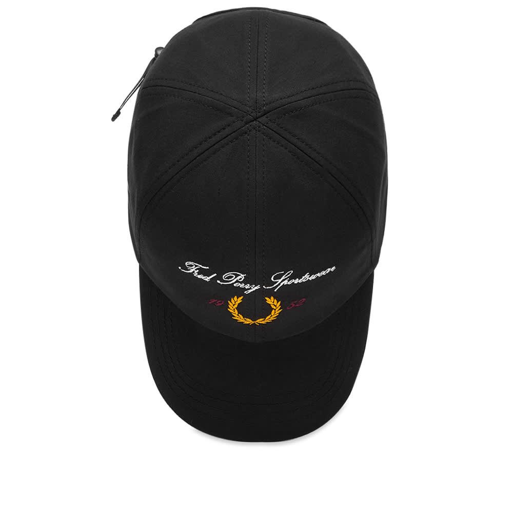 Fred Perry Archive Logo Baseball Cap - Black