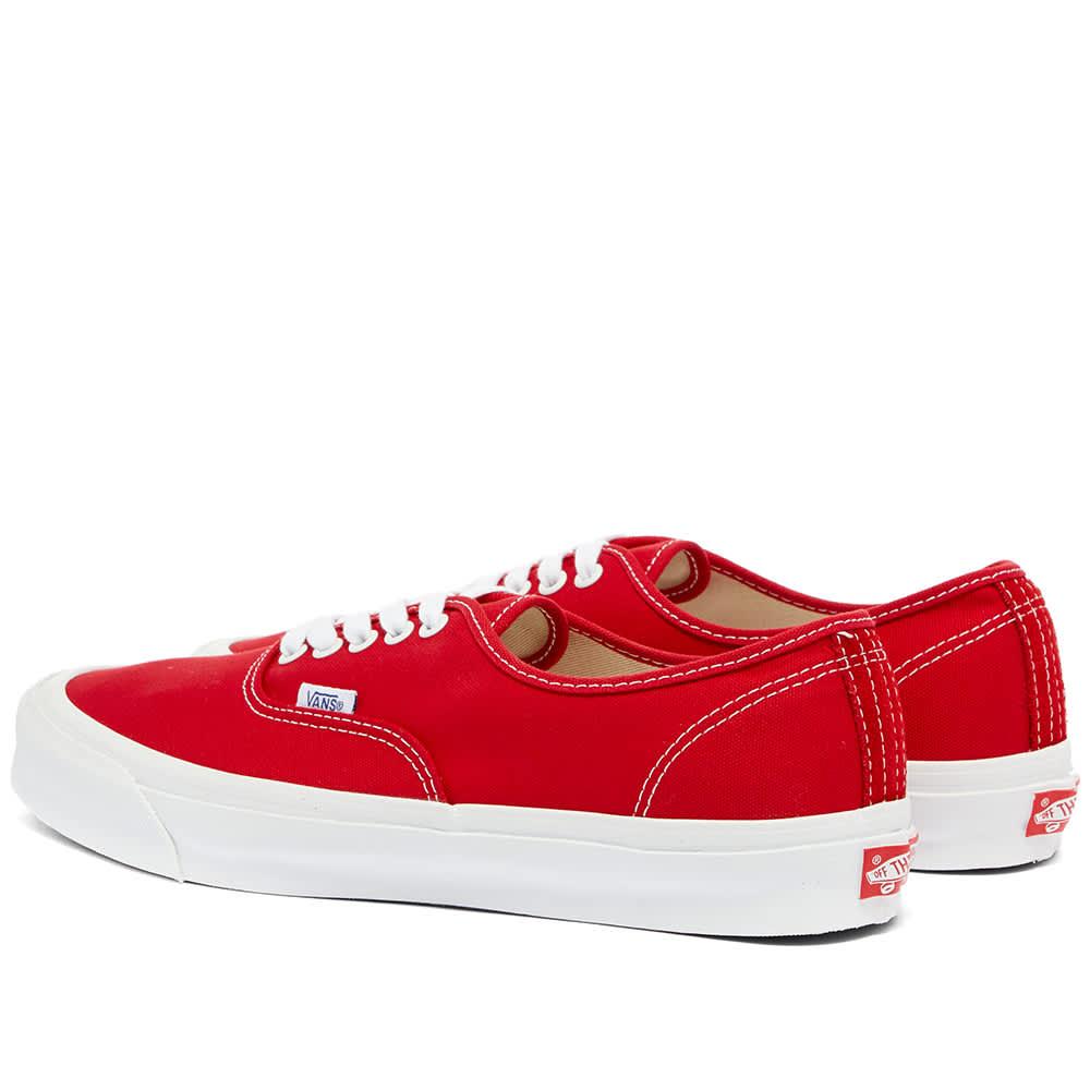 Vans Vault Authentic LX Red | END.