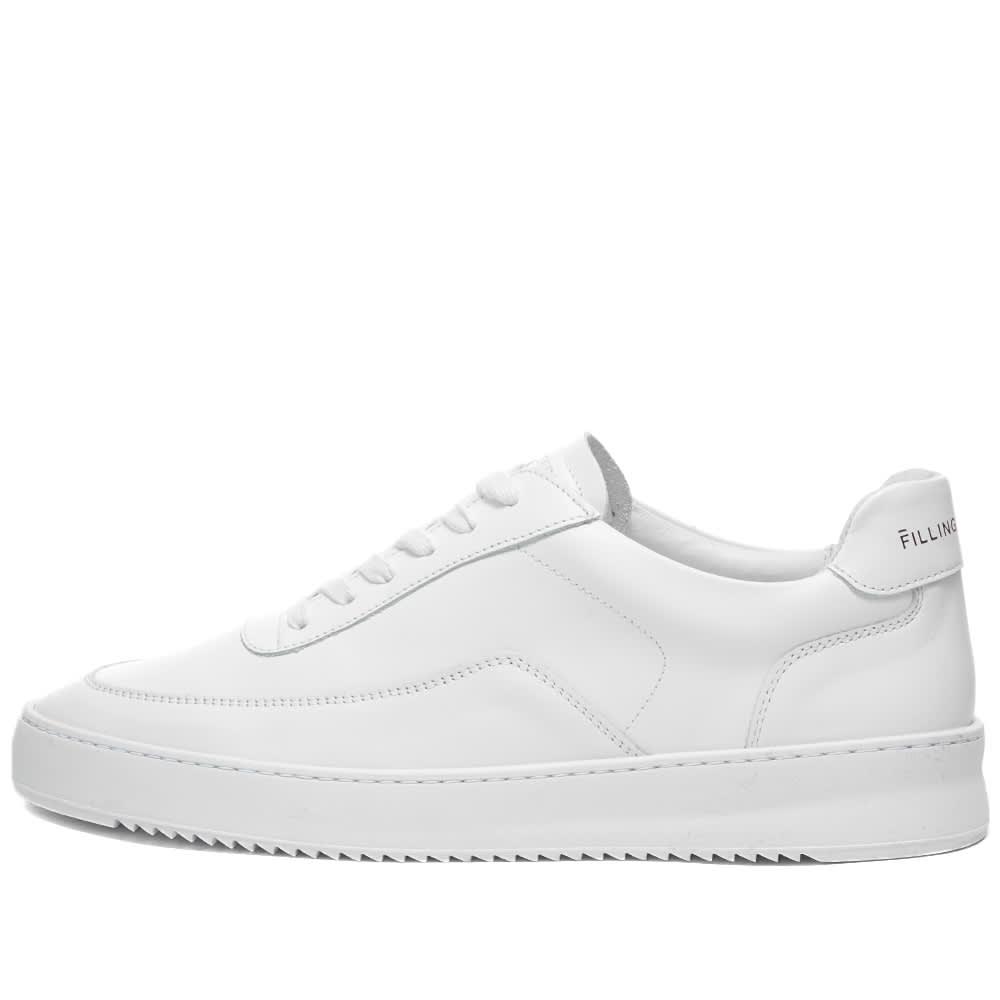 Filling Pieces Mondo 2.0 Ripple Nappa Sneaker - White